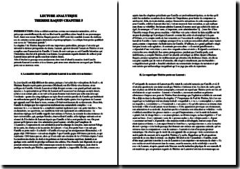 Zola, Thérèse Raquin, Chapitre 5 : lecture analytique