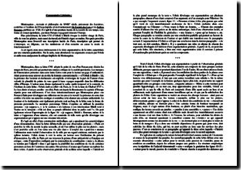Montesquieu, Lettres persanes, lettre CVI : commentaire composé