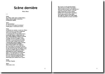 Racine, Phèdre, Scène finale (la mort) : commentaire