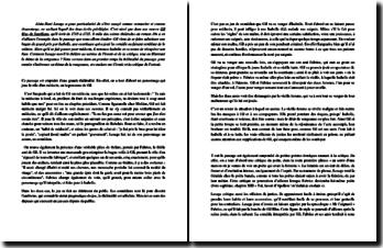 Lesage, Gil Blas de Santillane, Livre II, Chapitre 3, Extrait : commentaire