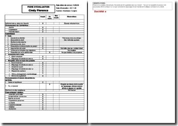 Grille D Evaluation Des Competences