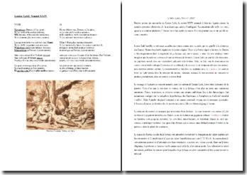 Louise Labé, Sonnet XXIV : commentaire
