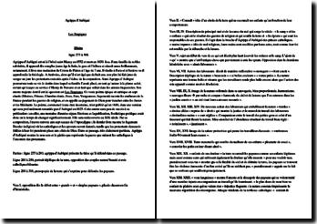 Agrippa d'Aubigné, Tragiques, Livre I, Lignes 275 à 308