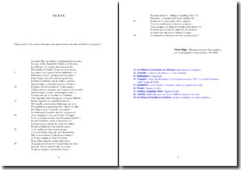 Hugo, Les Contemplations, Réponse à un acte d'accusation : étude analytique d'un extrait