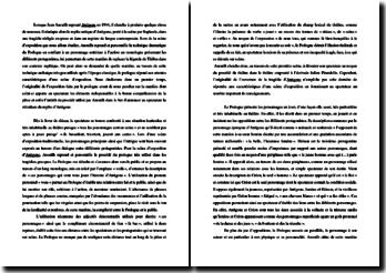Jean Anouilh, Antigone, Acte I scène 1 : commentaire