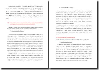 Du Bellay, Les Antiquités de Rome, Poème XXV : commentaire