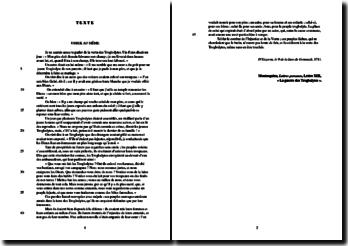 Montesquieu, Lettes persanes, Lettre XIII La guerre des Troglodytes : étude analytique