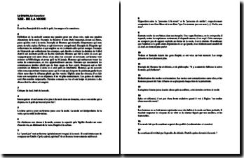 La Bruyère, Caractères, Livre XIII, De la Mode (résumé)