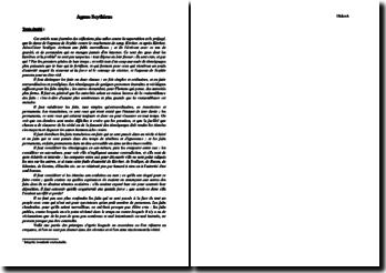 Diderot, L'Encyclopédie, Agnus Scythicus : commentaire