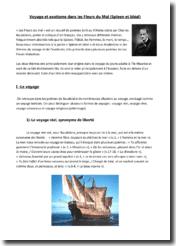 Charles Baudelaire, Les Fleurs du Mal (Spleen et idéal) : Voyage et exotisme