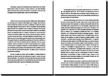 William Faulkner, Sartoris, Le récit de la mort de l'ancêtre Bayard : commentaire