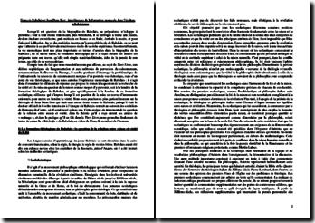 François Rabelais et Jean Duns Scot : interférences de la formation monacale dans l'écriture rabelaisienne