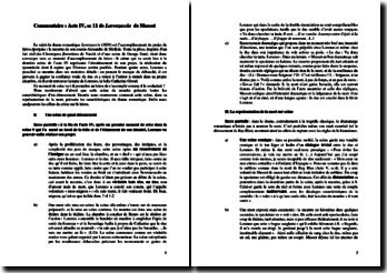 Alfred de Musset, Lorenzaccio, Acte IV scène 11 : commentaire