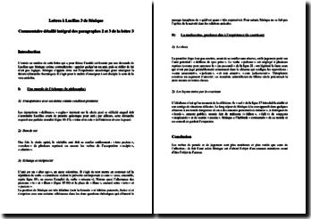 Sénèque, Lettres à Lucilius, Lettre 3 paragraphes 2 et 3 : commentaire