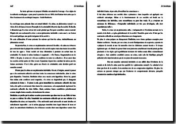 Emile Durkheim, Les règles de la méthode sociologique, Le crime un phénomène normal : résumé