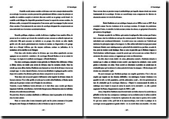 Le thème de la déviance en sociologie : commentaire de textes