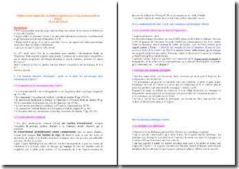 Diderot, Supplément au Voyage de Bougainville, Les personnages A et B : commentaire