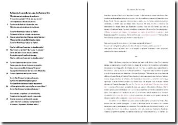 Charles Baudelaire, Le Balcon : commentaire composé