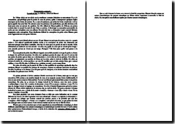 Alfred de Musset, La Nuit de Mai, Le Pélican : commentaire