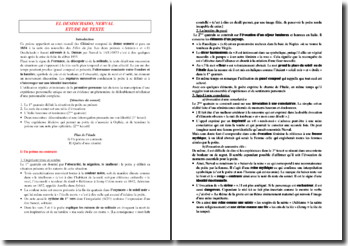 Gérard de Nerval, Chimères, El Desdichado : commentaire