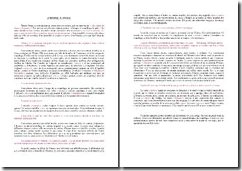 Francis Ponge, L'Huître : étude linéaire