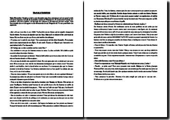 Ecriture d'invention : argumentation sur une des histoires de l'Heptameron