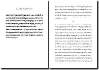 Jean-Jacques Rousseau, La Nouvelle Héloise, Extrait : commentaire composé