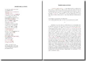 La Fontaine, Les deux Coqs : commentaire composé