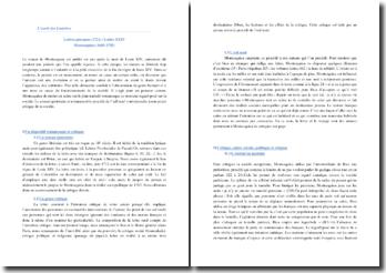 Montesquieu, Lettres Persanes, Lettre XXIV : commentaire