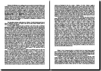 Rimbaud, Illuminations, Barbare : commentaire
