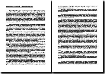 François Sengat-Kuo, Anthologie Africaine, Ils m'ont dit... : commentaire