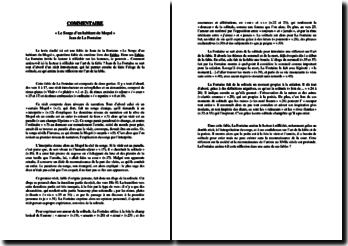 Jean de La Fontaine, Fables, Le songe d'un habitant du Mogol : commentaire