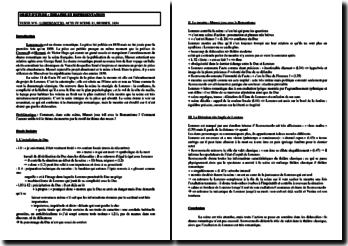 Alfred de Musset, Lorenzzacio, Acte IV scène 11 : étude linéaire