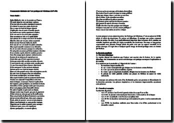 Nicolas Boileau, L'Art poétique, vers 147 à 198 : commentaire