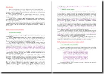 Diderot, Jacques le fataliste et son maître, Extrait : commentaire