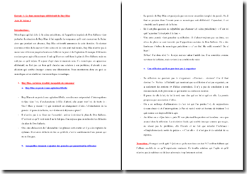 Victor Hugo, Ruy Blas, Acte IV scène 1, Le faux monologue délibératif de Ruy Blas : commentaire composé