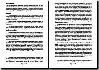 Voltaire, Tous les genres sont bons, sauf le genre ennuyeux: dissertation