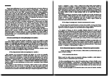 Diderot, Encyclopédie, Autorité politique : analyse des quatre premiers paragraphes