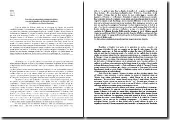 Gauthier,Le pin des Landes, Baudelaire,L'Albatros : commentaire comparé