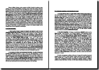 Blaise Cendrars, La prose du Transsibérien et de la petite Jehanne de France - Commentaire: poème ferrovière et dimension fantastique du voyage