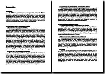 Jean de La Fontaine, Fables, Le Lion et le Moucheron : commentaire
