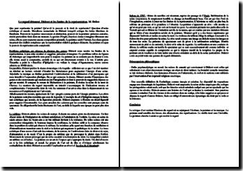 Delon, Le regard détourné, Diderot et les limites de la représentation