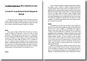 Pierre Choderlos de Laclos, Les Liaisons dangereuses, Lettre 81