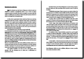Le mentir vrai ou le conditionnement du lecteur dans l'oeuvre de Maupassant