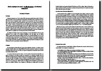 Mouloud Feraoun, Le fils du pauvre : étude analytique