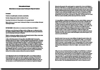 Condorcet, Réflexions sur l'esclavage des Nègres, Chapitre II, Raisons dont on se sert pour excuser l'esclavage des Nègres