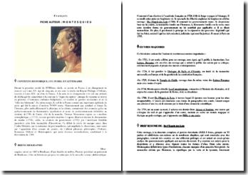 Montesquieu : son oeuvre et son temps