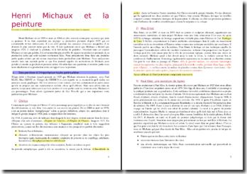Henri Michaux et la peinture
