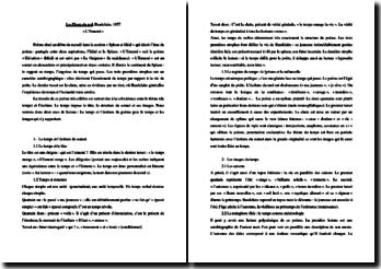Charles Baudelaire, L'Ennemi, Les Fleurs du Mal : commentaire