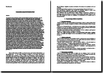 Chateaubriand, René, Incipit : commentaire